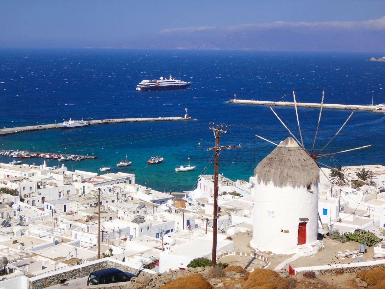ギリシャ、ミコノス島