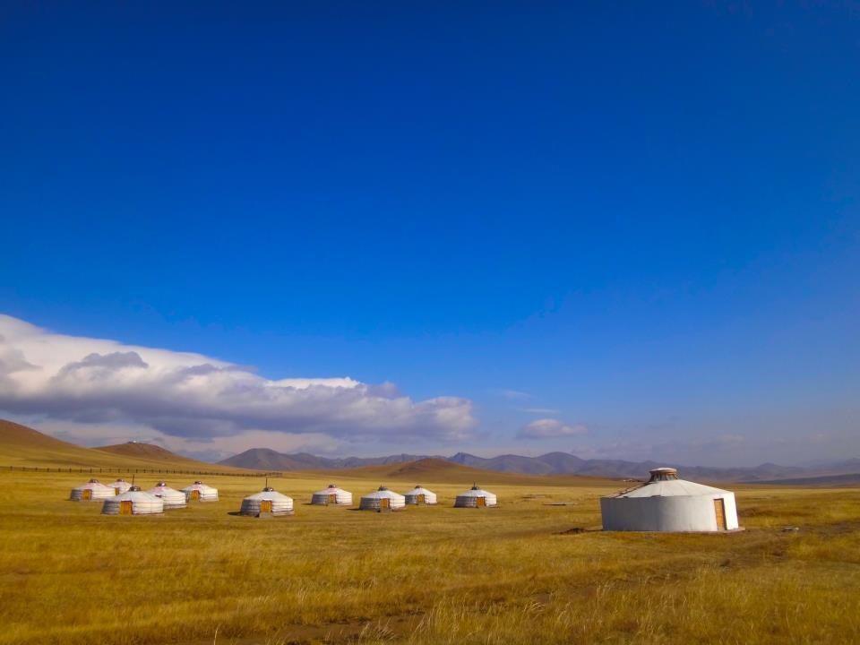 モンゴル、テレルジ国立公園