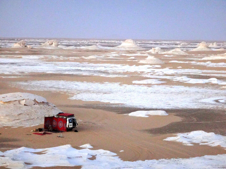 エジプト、白砂漠