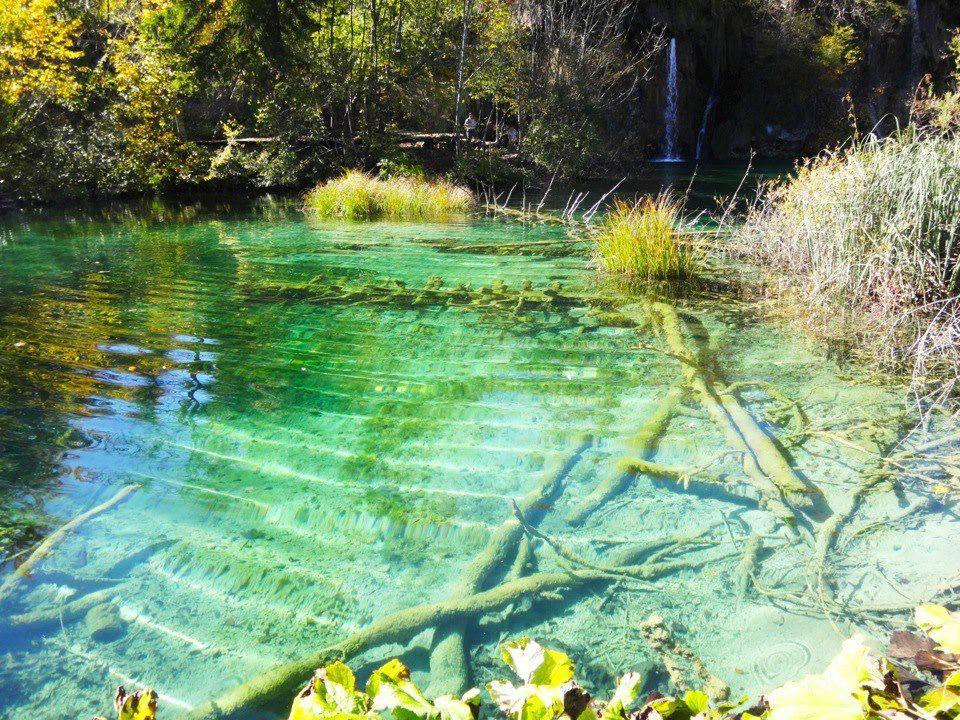 クロアチア、プリトヴィツェ湖郡国立公園
