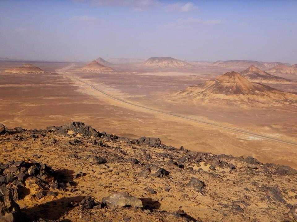 エジプト、黒砂漠