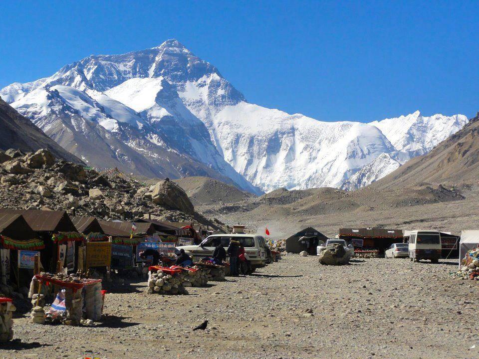 チベット、エベレストベースキャンプ