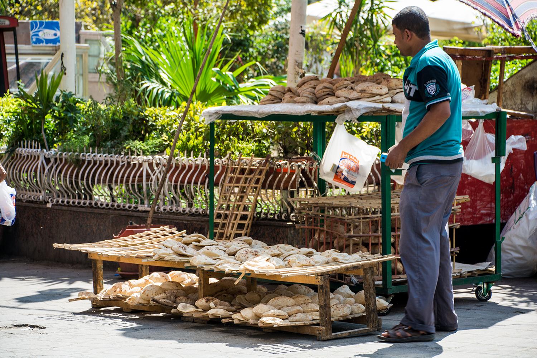 カイロのパン屋