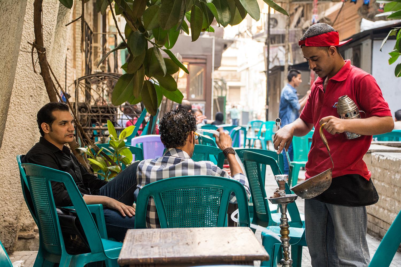 カイロのカフェ