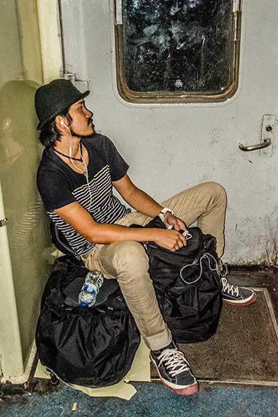 カイロからアスワンの列車