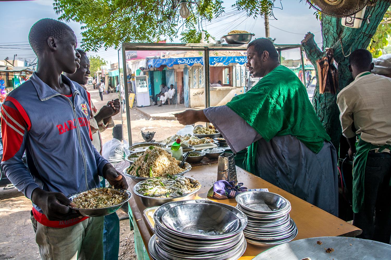 スーダンの料理