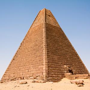 スーダンのピラミッド