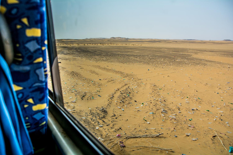 スーダンの車窓