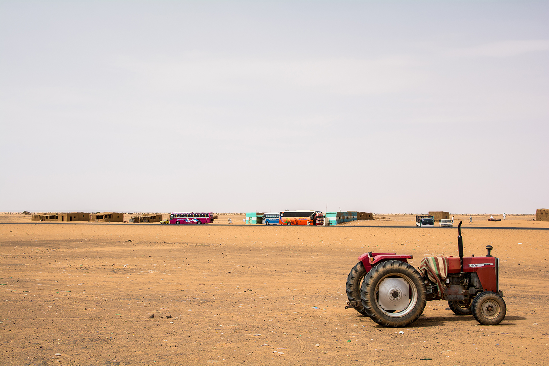 スーダンのサービスエリア