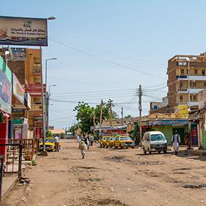 ハルツームの街並