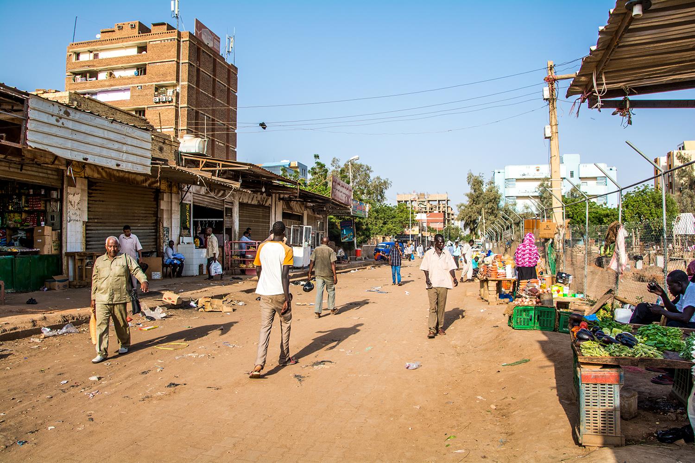 スーダンの街並
