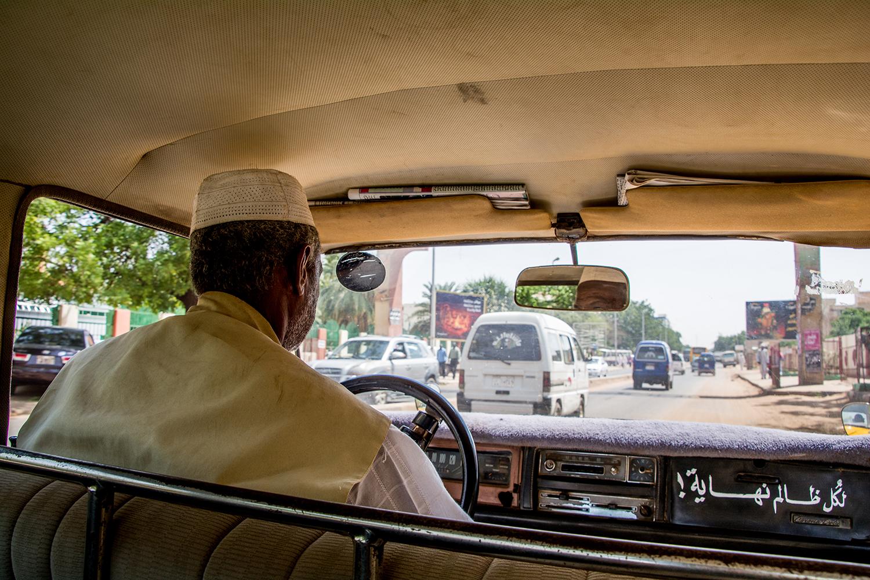 ハルツームのタクシー