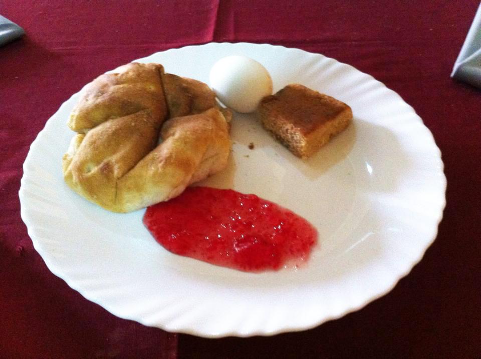 Sahar Tourist Hotelの朝食