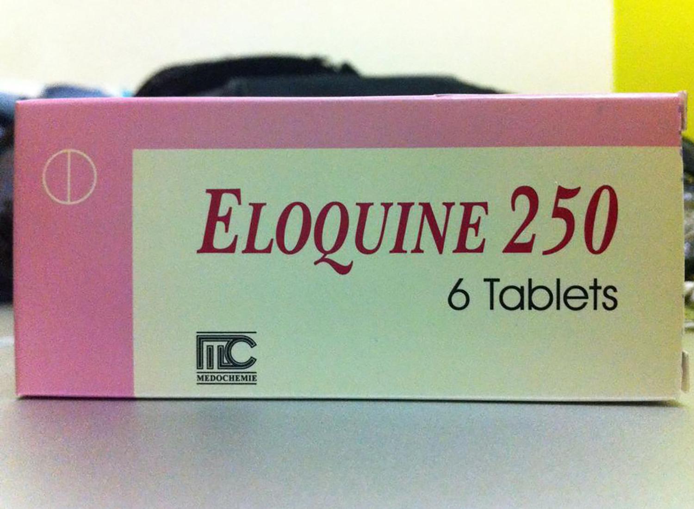 マラリア予防薬エロキン