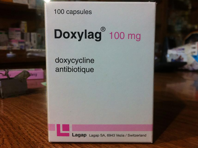 マラリア予防薬ドキシサイクリン