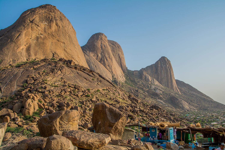 カッサラの山