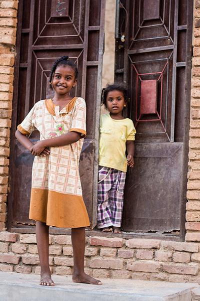 スーダンの子供達