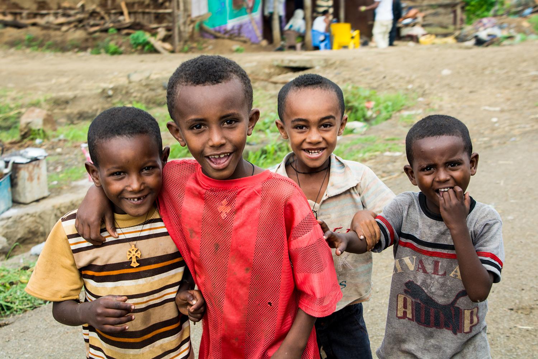 エチオピアの子供達