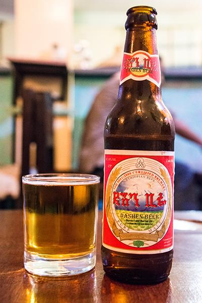 エチオピアのビール