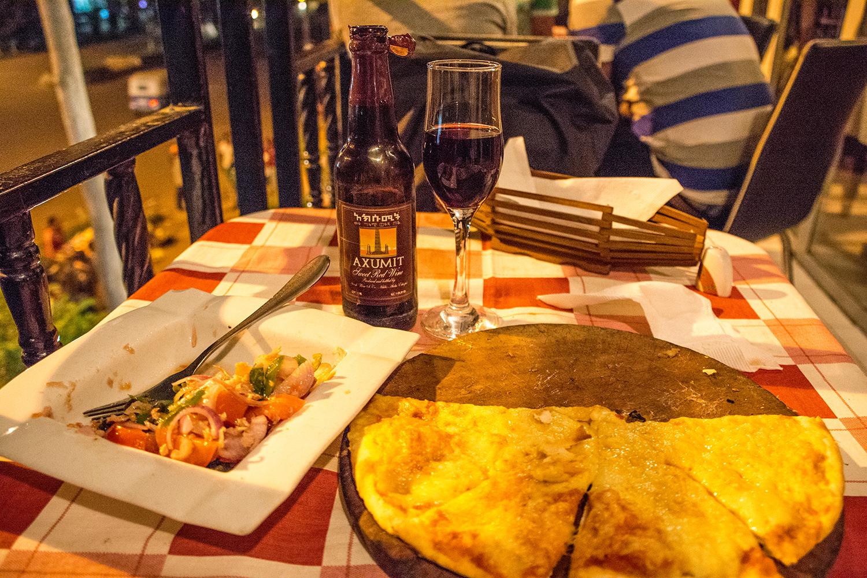 バハルダールのレストラン