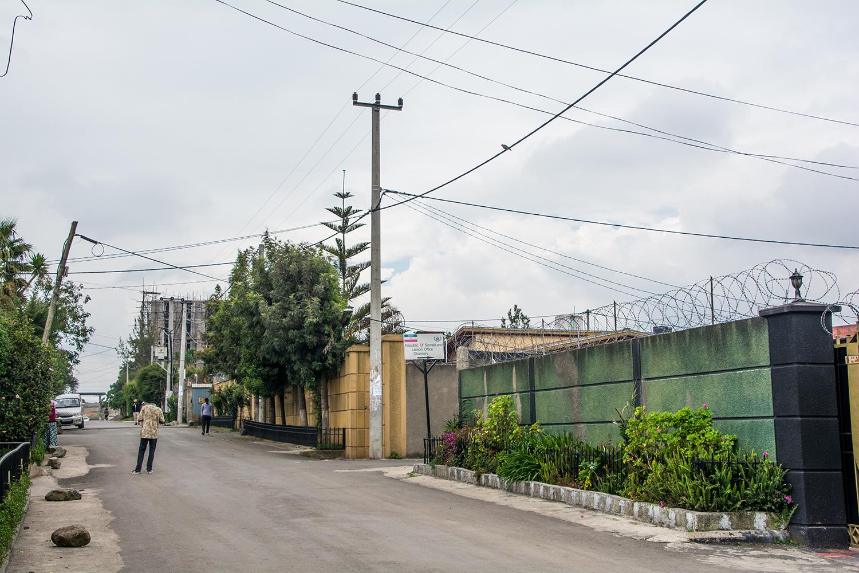 ソマリランド大使館の看板