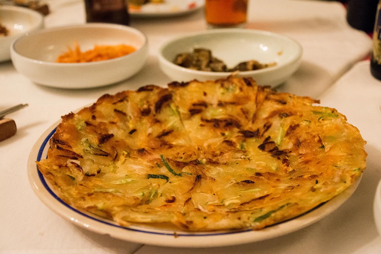 アディスアベバの韓国料理屋