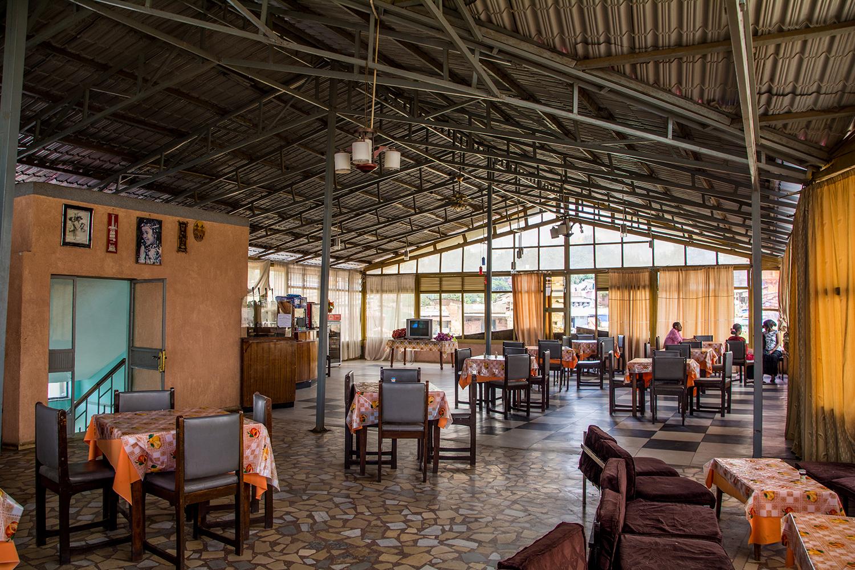 バライネホテルのレストラン