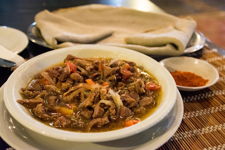 エチオピア料理トュブス