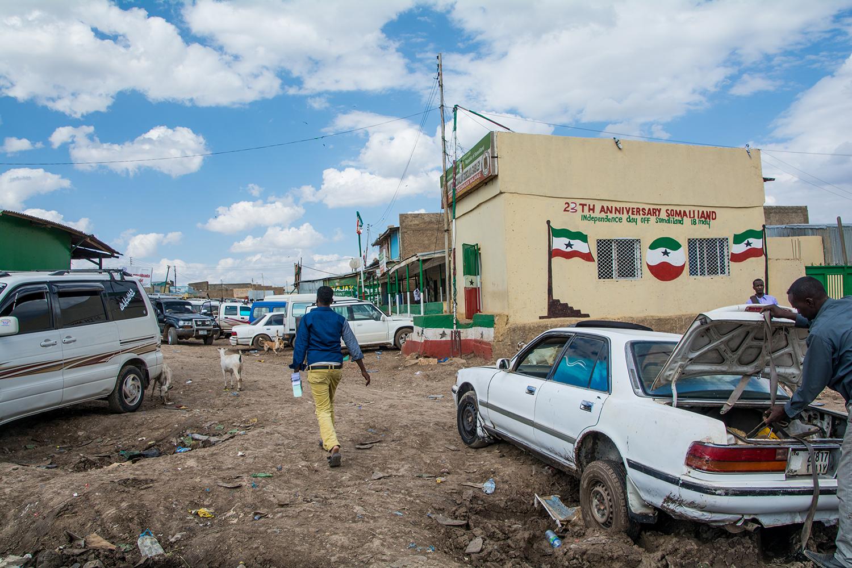 ソマリランドのイミグレ