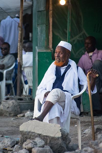 ソマリランドのおっさん