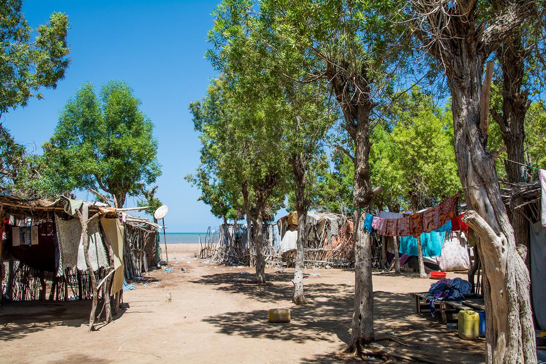 ソマリランドとジブチの国境