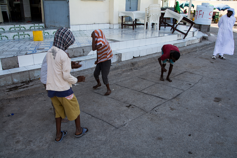 アフリカンクウォーターの子供達