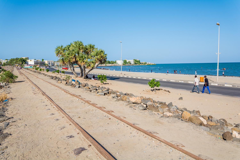 ジブチの海