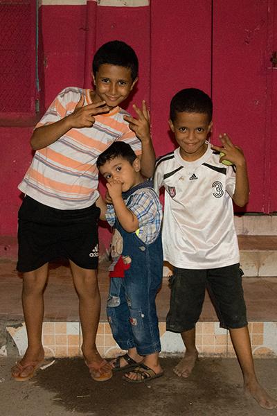 ジブチの子供達