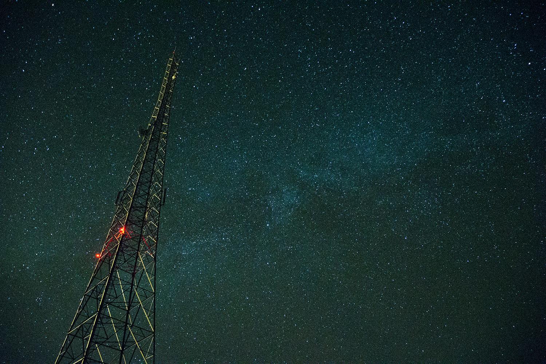 ダナキル砂漠の星空