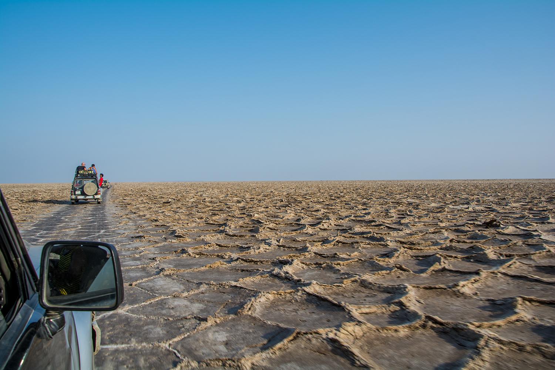 ダナキル砂漠