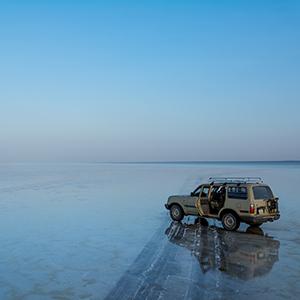 アサレ塩湖