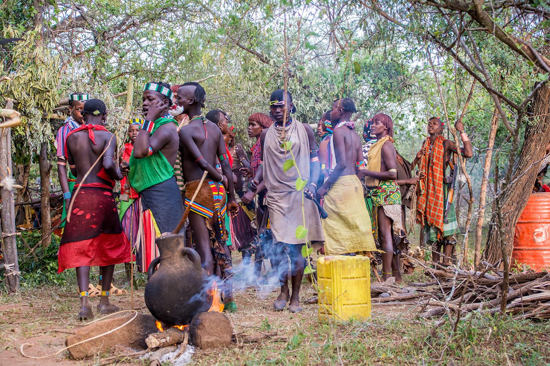 バンナ族の成人式