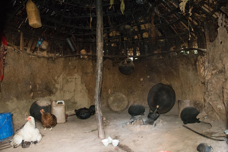 アリ族の家屋