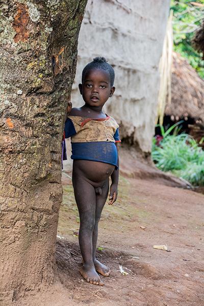 アリ族の子供