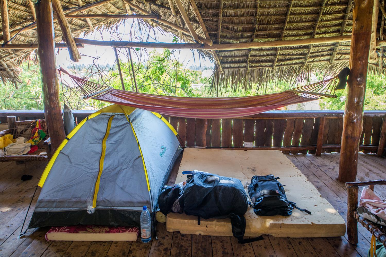 ナイロビで買ったテント