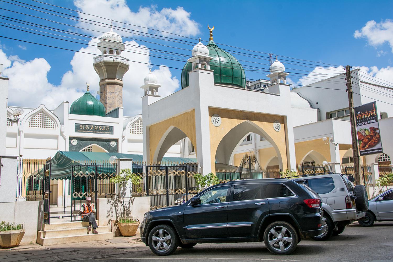 ナイロビで一番大きいモスク