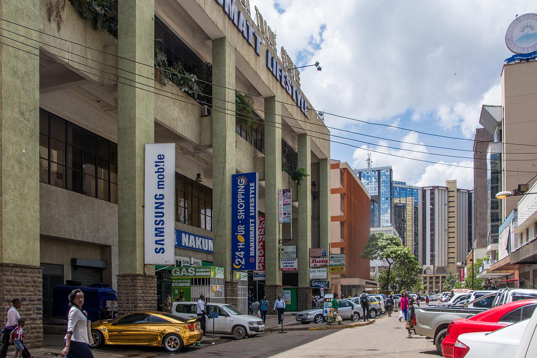 ナイロビのスーパーマーケット