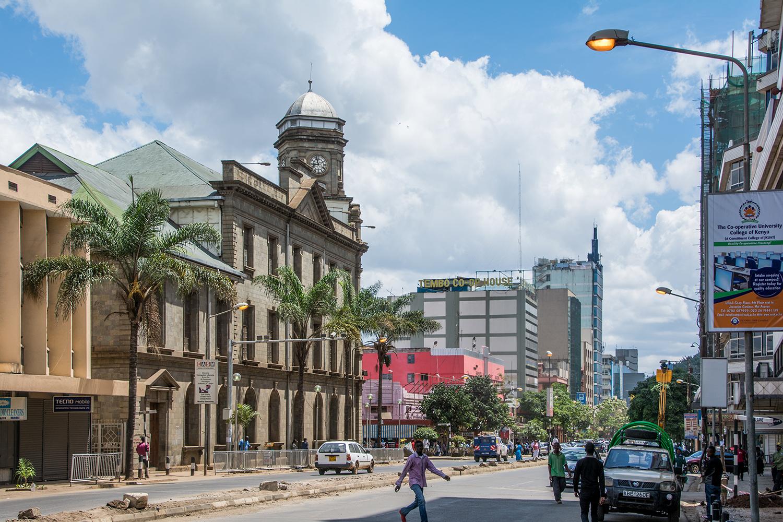 ナイロビの街並