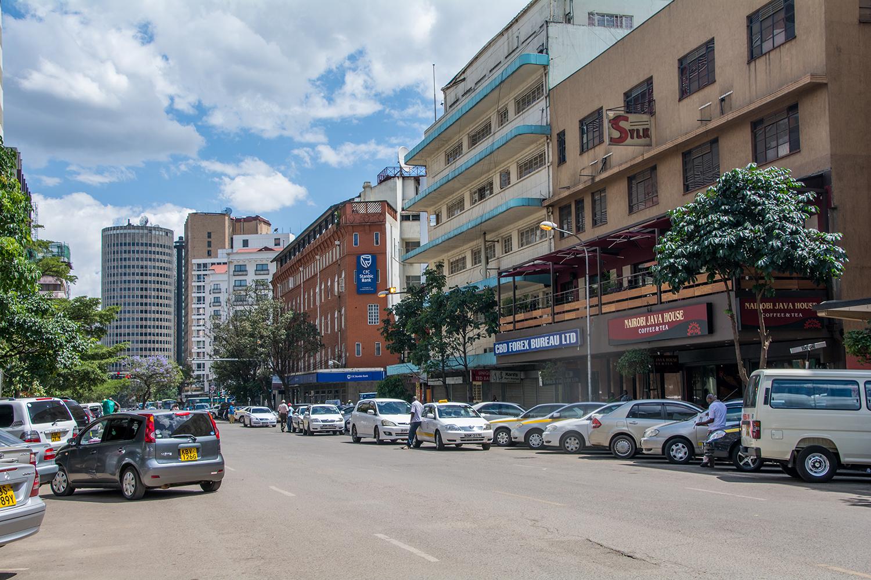 ナイロビの路地