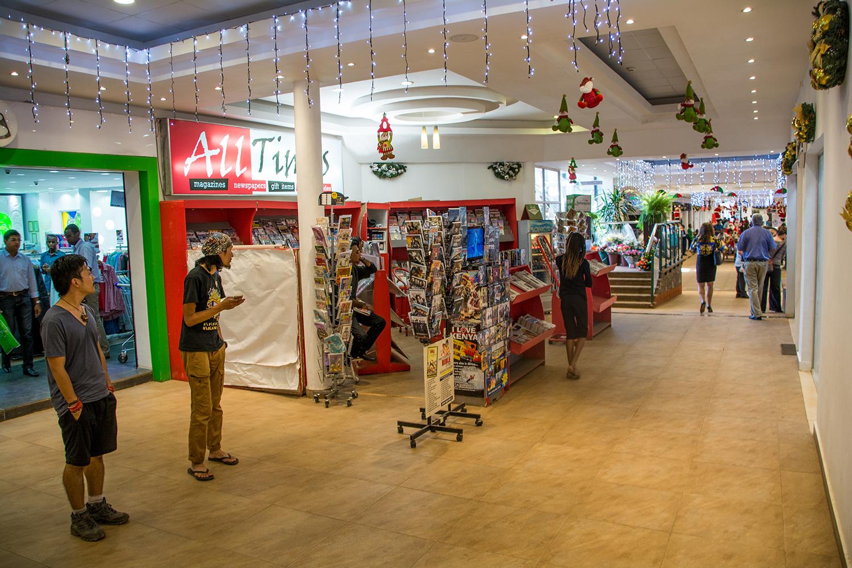 ナイロビのショッピングモール