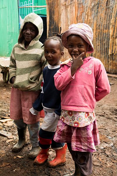 キベラスラムの子供達