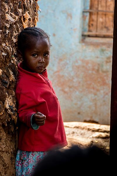 キベラスラムの子供