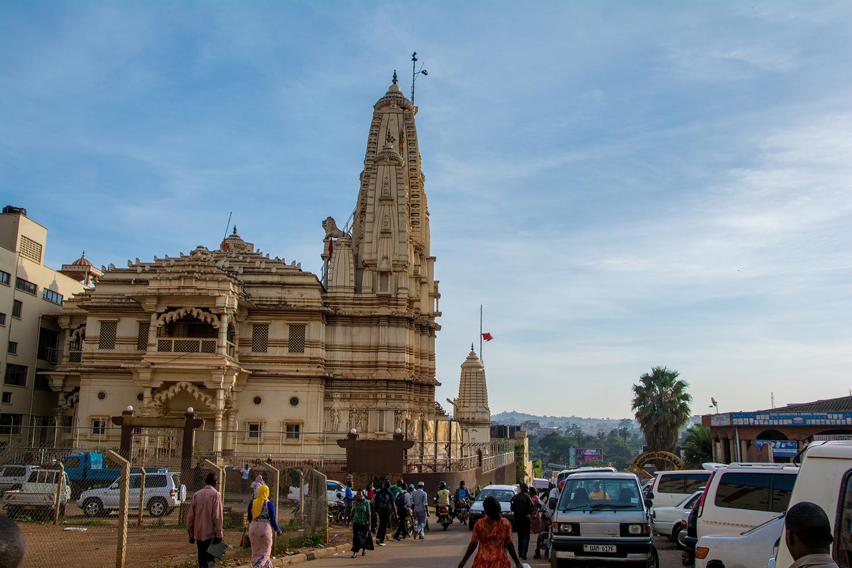 カンパラのヒンドゥー教寺院