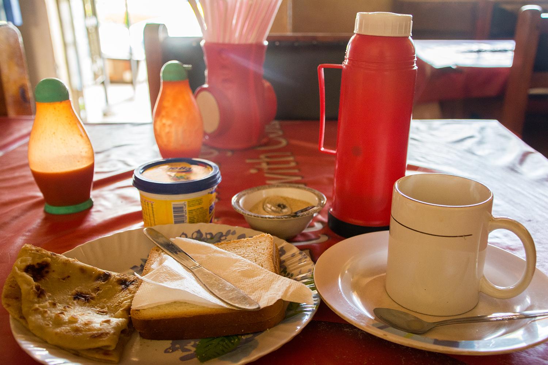 ニューリンダロッジの朝食